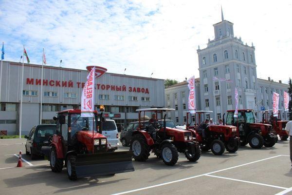 Тракторный завод в Минске