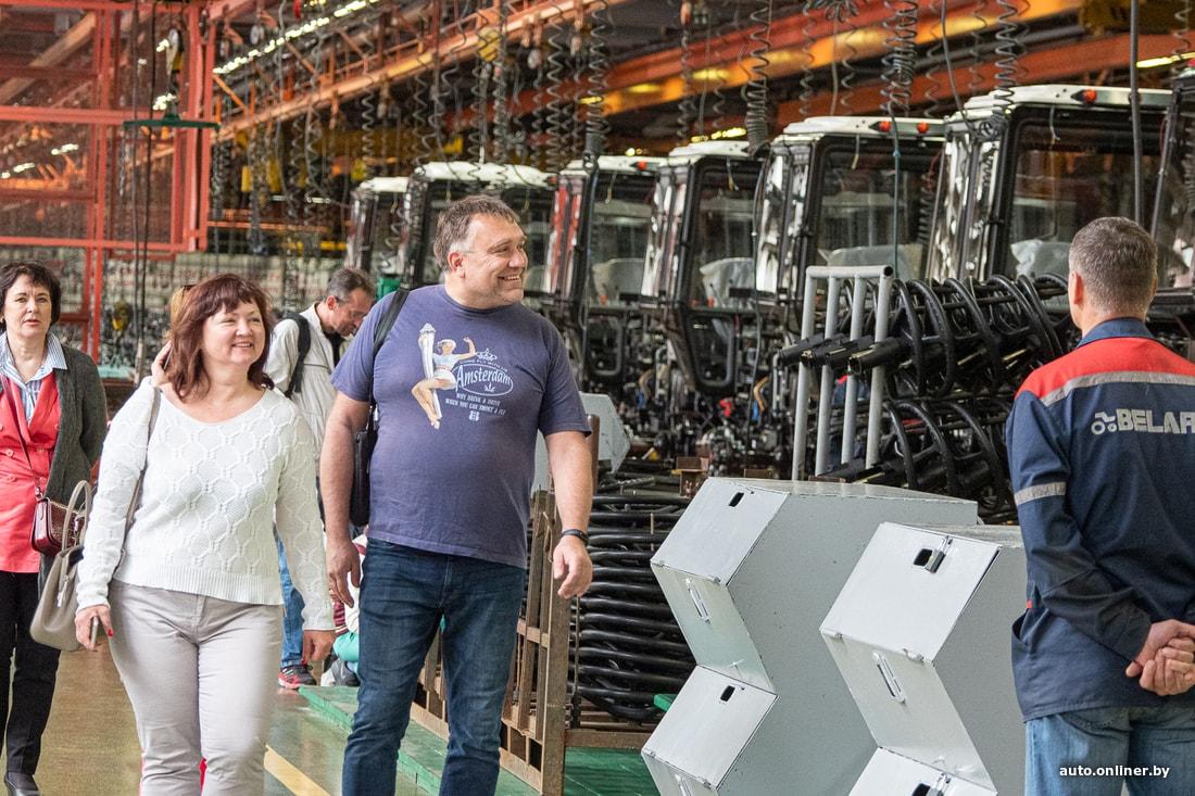 Потенциал МТЗ в области промышленного туризма