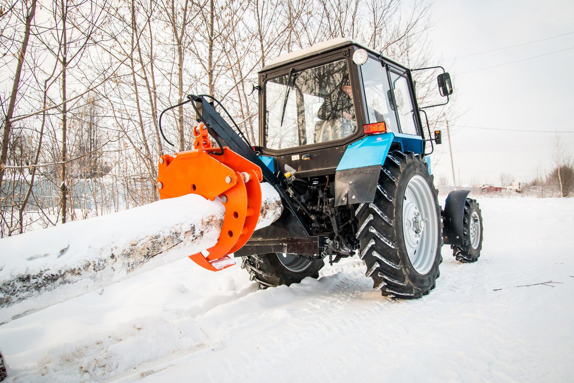 Лесничества Башкирии получат новые трактора МТЗ