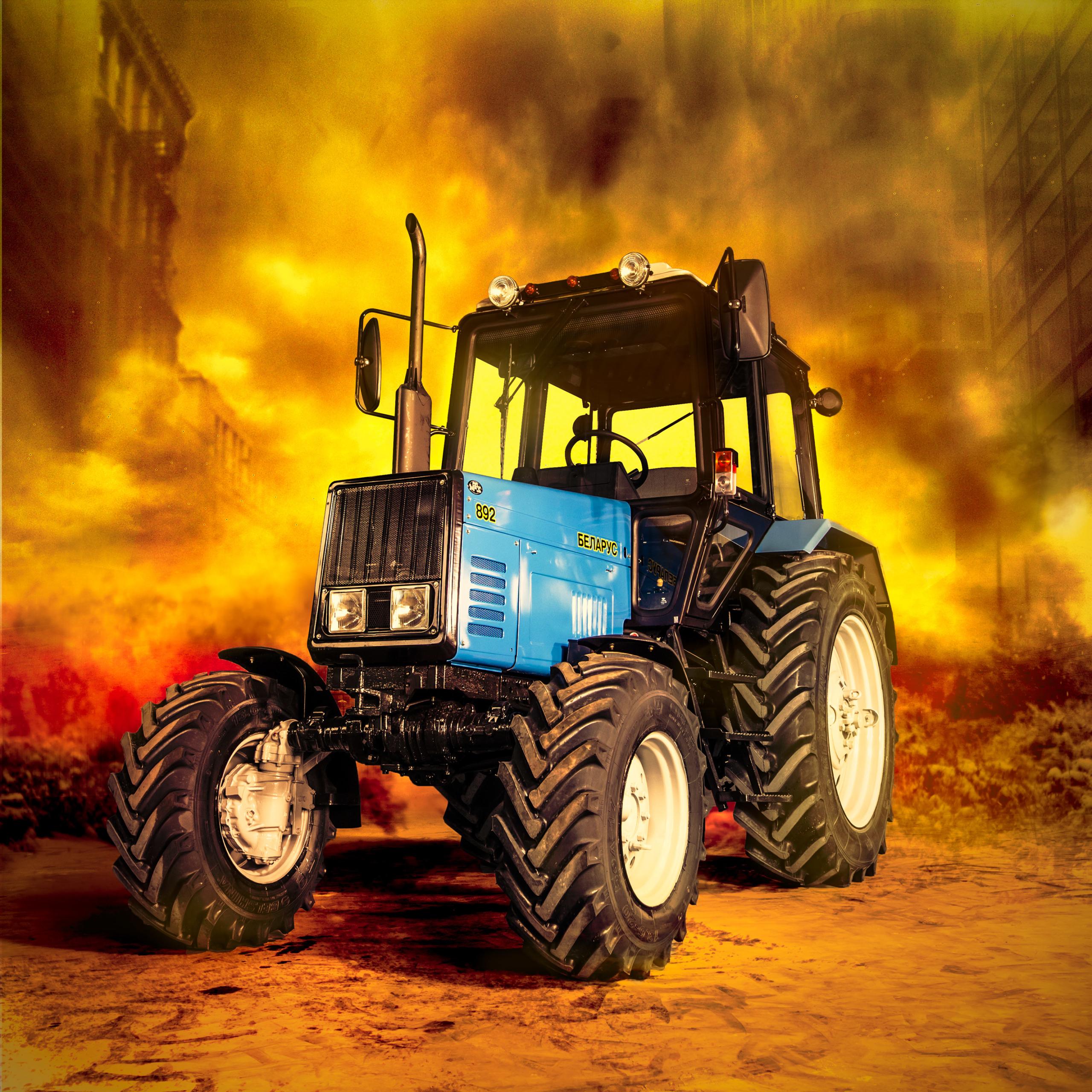 Популярность тракторов и комбайнов во время пандемии