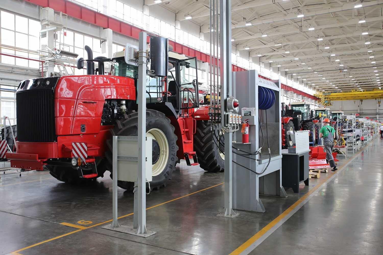 Строительство нового тракторного завода в России